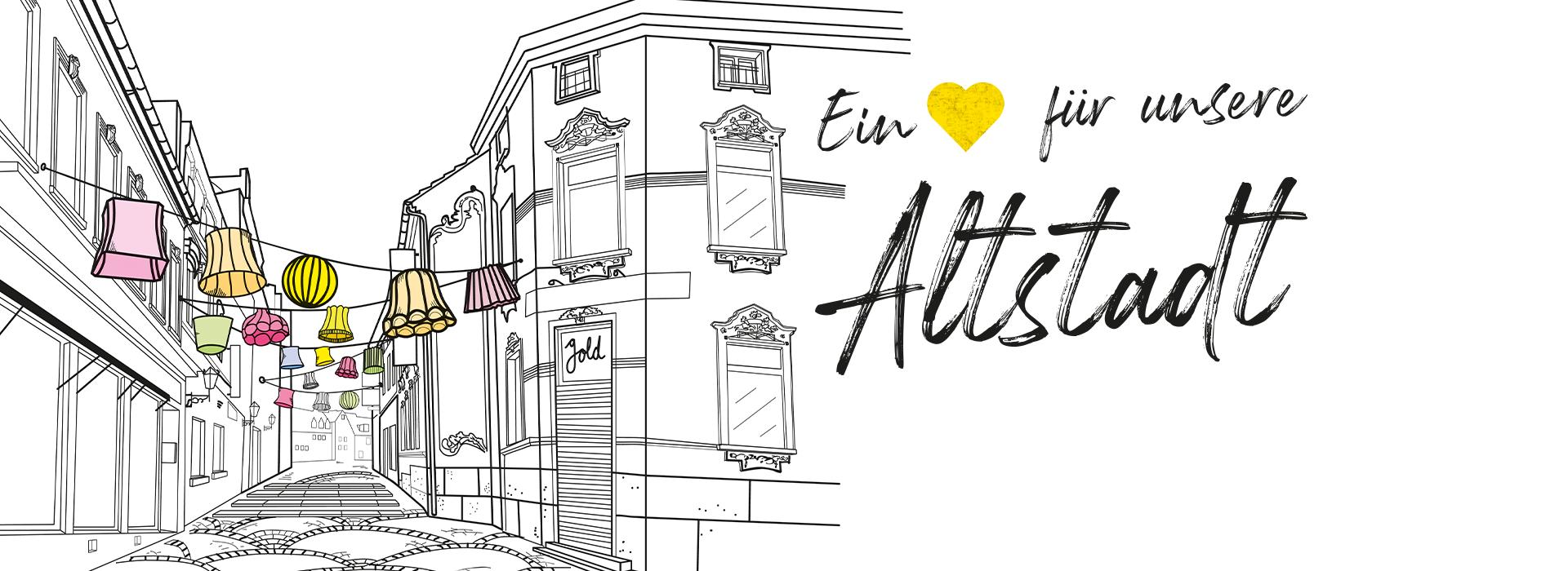 Endt Aktion Ein Herz für unsere Altstadt Mönchengladbach